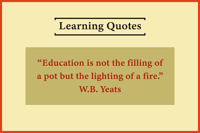Good learning quote image