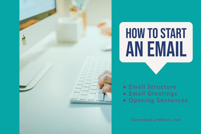 How to start an email image