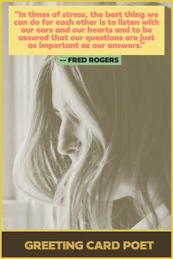 Mr. Rodgers Quote on stress image