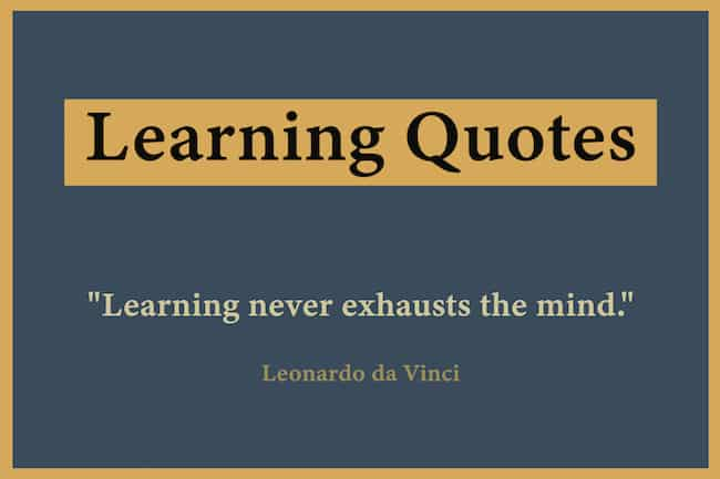Quotations about learning and education image