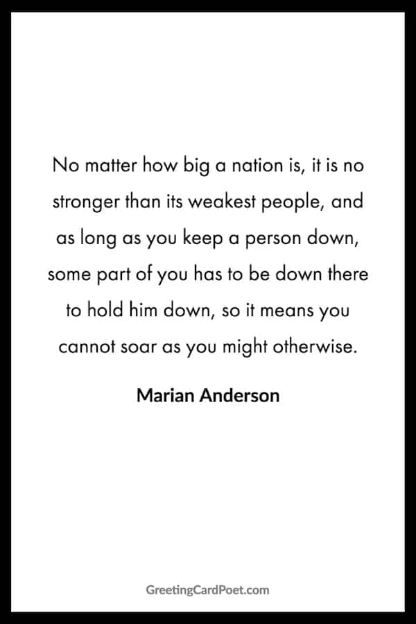 Marian Anderson quote image