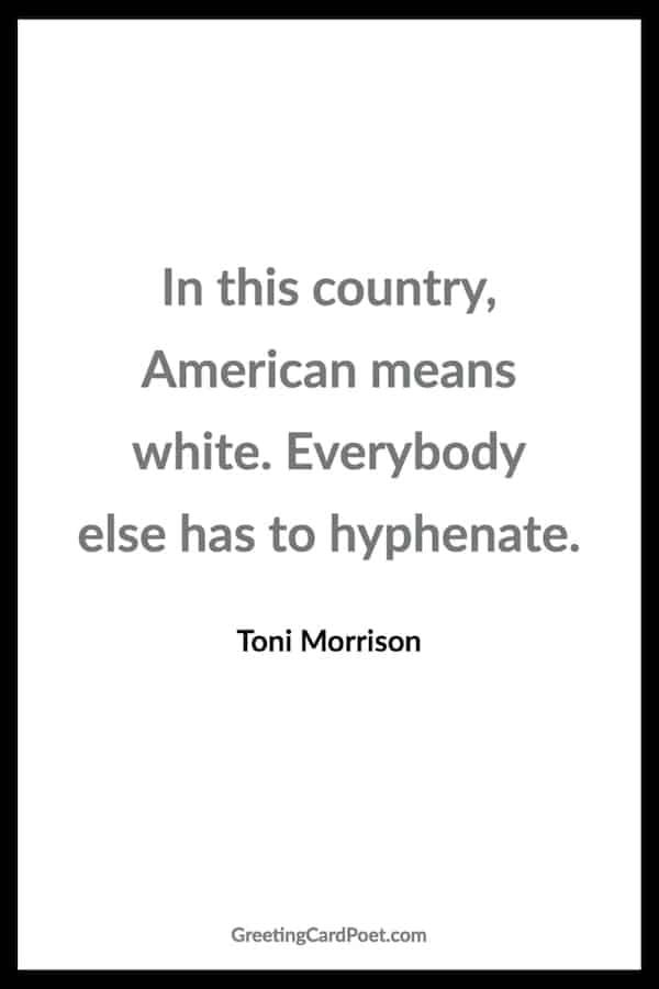 Racism quotes - Toni Morrison quote image