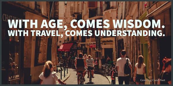 Journey quotes - travel brings understanding