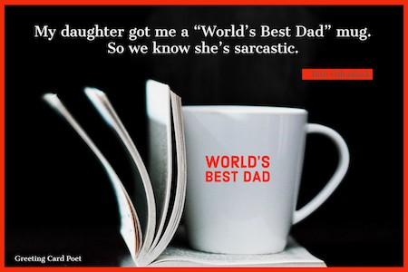 World's Best Dad quotation meme