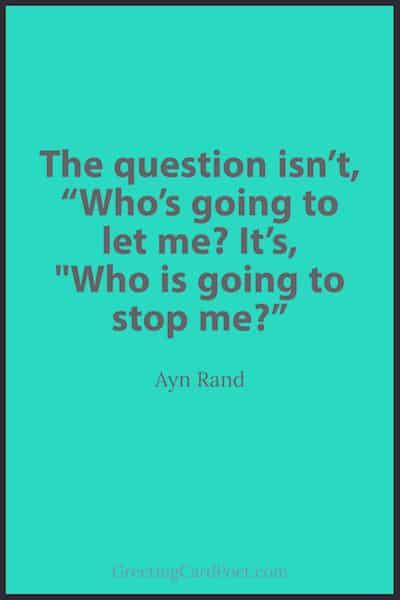 Ayn Rand Saying