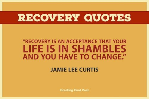 good recovery quotes