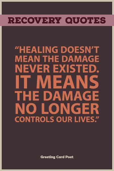 healing saying