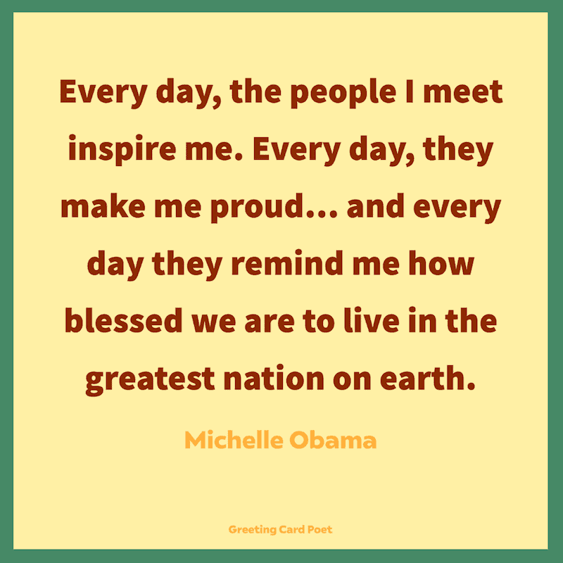Blessed Quotes - Michelle Obama