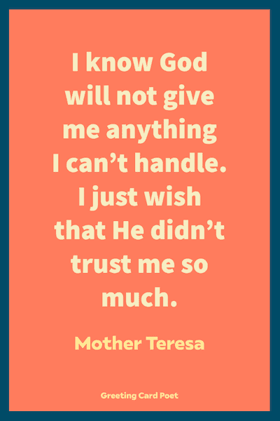 Blessed Quotes - Mother Teresa