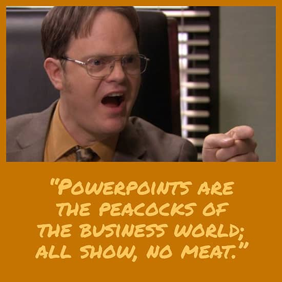 Dwight Schrute quotes - Powerpoints
