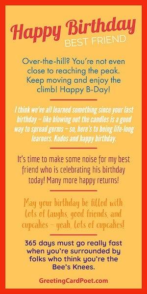 Happy birthday best friend - Tall 2