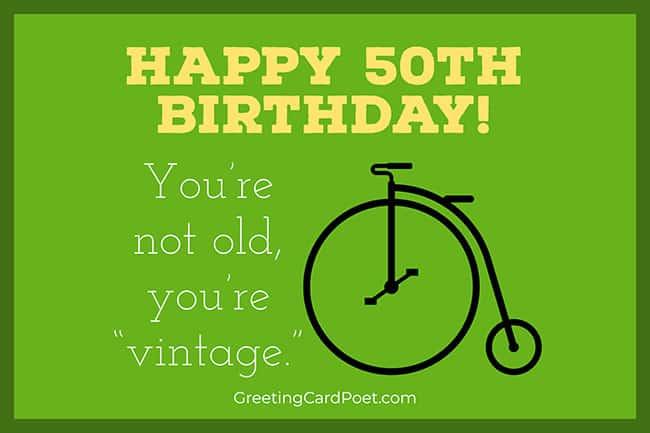 Happy 50th Birthday 2