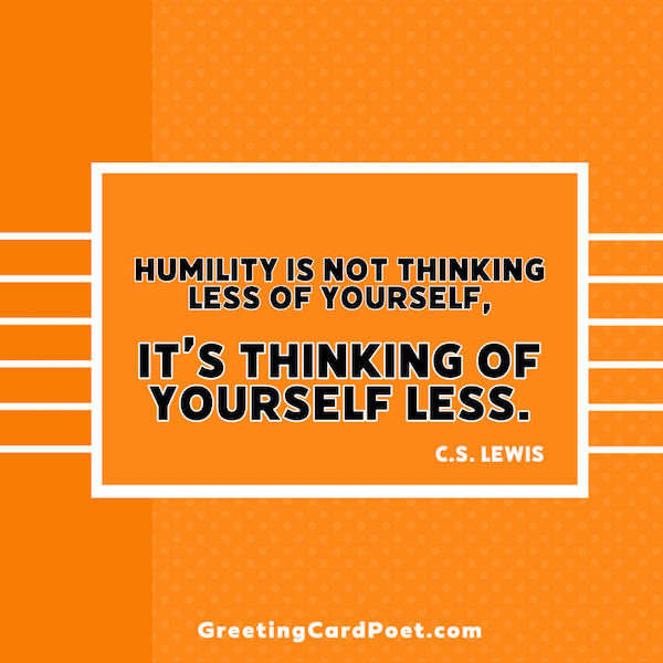 C.S. Lewis - Humble quotes