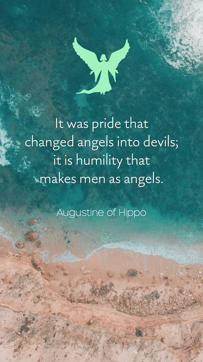 Humility saying by Augustine of Hippo