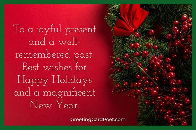 A joyful present - Merry Christmas blessings