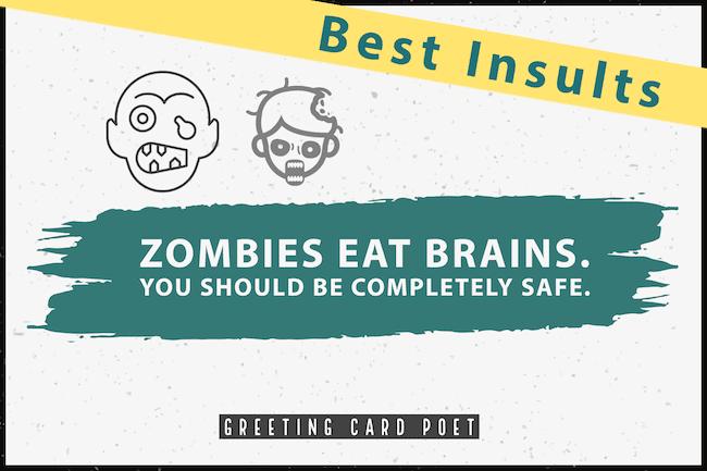 zombie insult