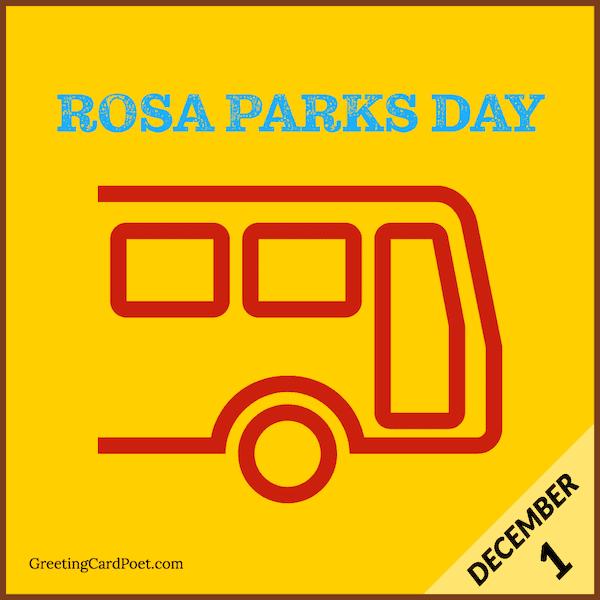 Rosa Parks Day - December 1