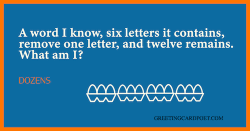 Dozens - hard riddles