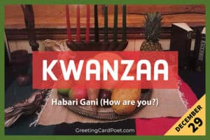 Kwanzaa Holiday Quotes and FAQs