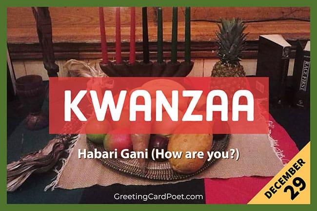 Kwanzaa Holiday Quotes