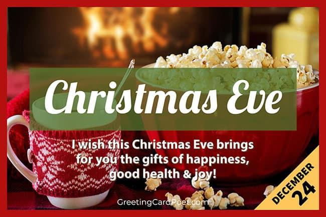 Christmas Eve - December 24