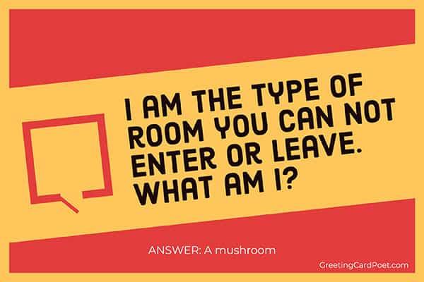 Mushroom - good riddles
