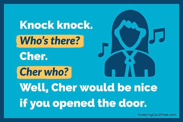 Cher humor meme