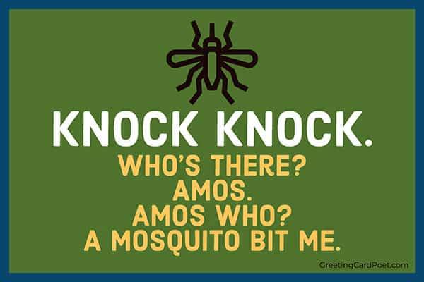 Mosquito humor