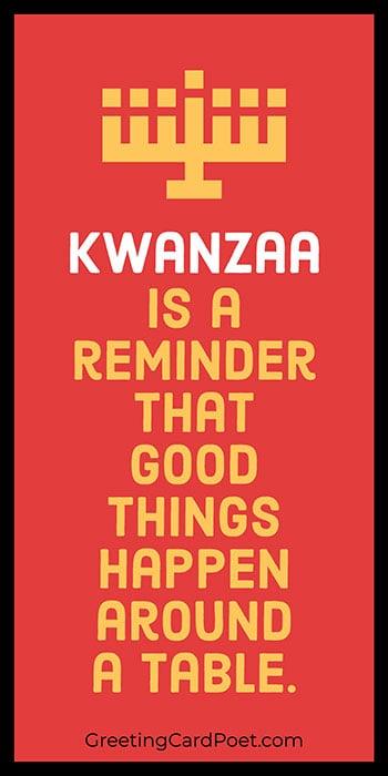 Kwanzaa Quotation meme