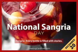 National Sangria Day Title