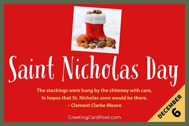 St. Nicholas Day - December 6
