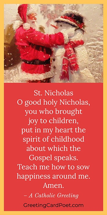 O good holy Nicholas greeting meme