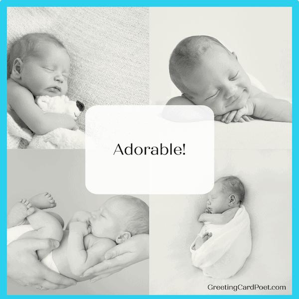 Baby - one-word Instagram captions