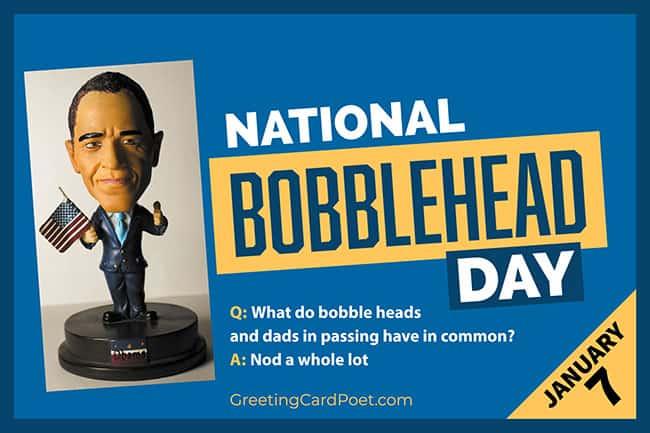 National Bobblehead Day