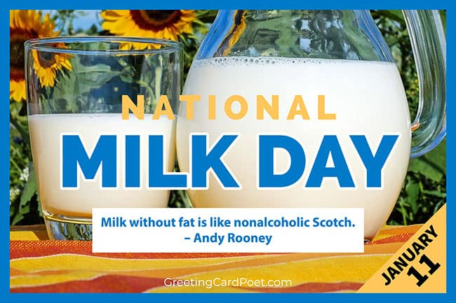 National Milk Day - January 11