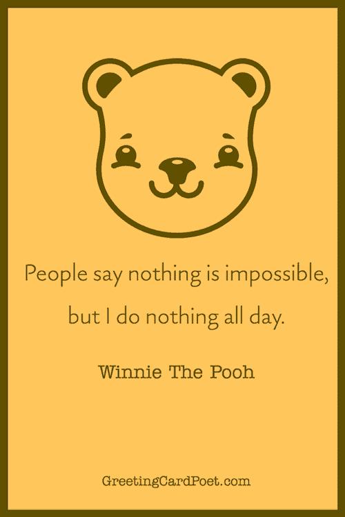 Winnie the Pooh Quote meme