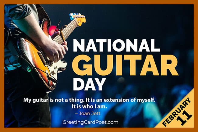 National Guitar Day quotes, jokes, captiions