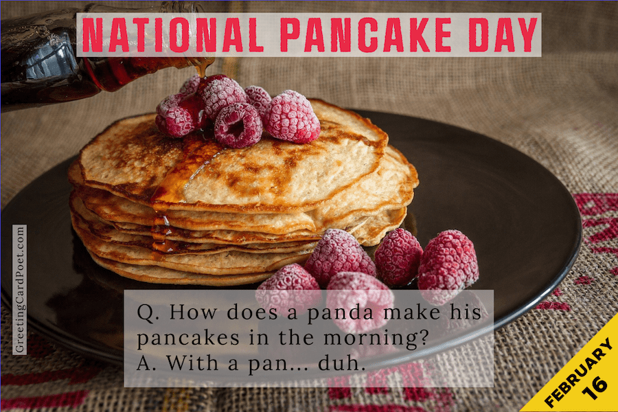 National Pancake Day quotes, captions, jokes