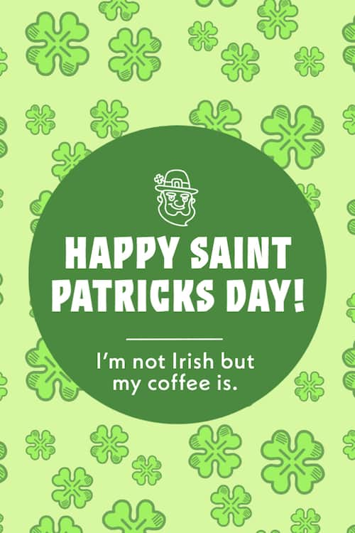 I'm not Irish meme