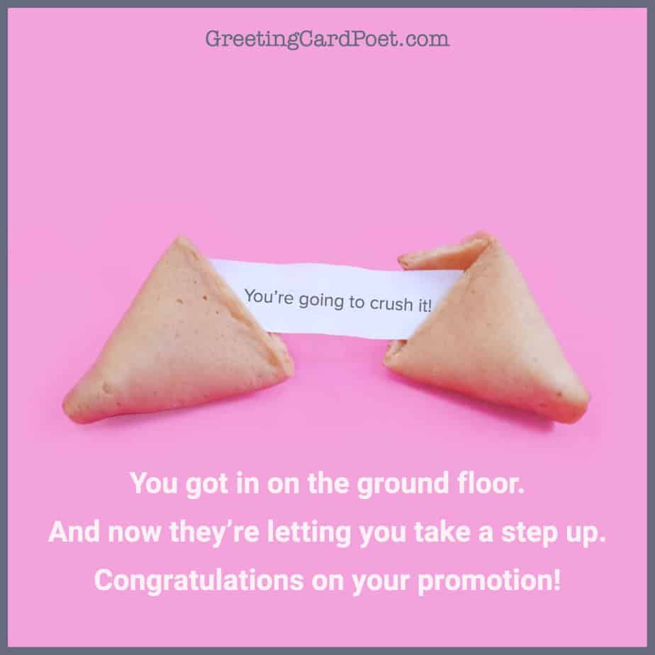 taking a step up - congratulations new job messages