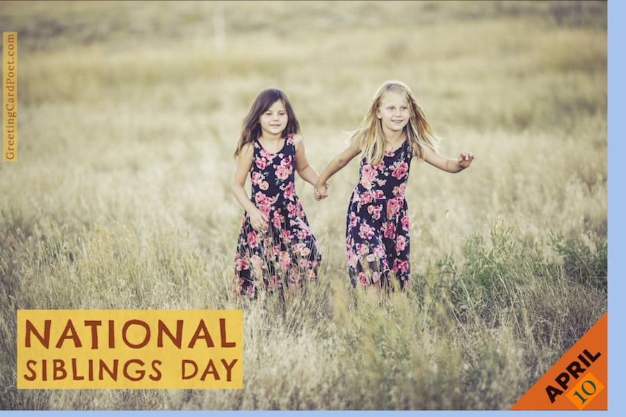 National Siblings Day quotes and captions