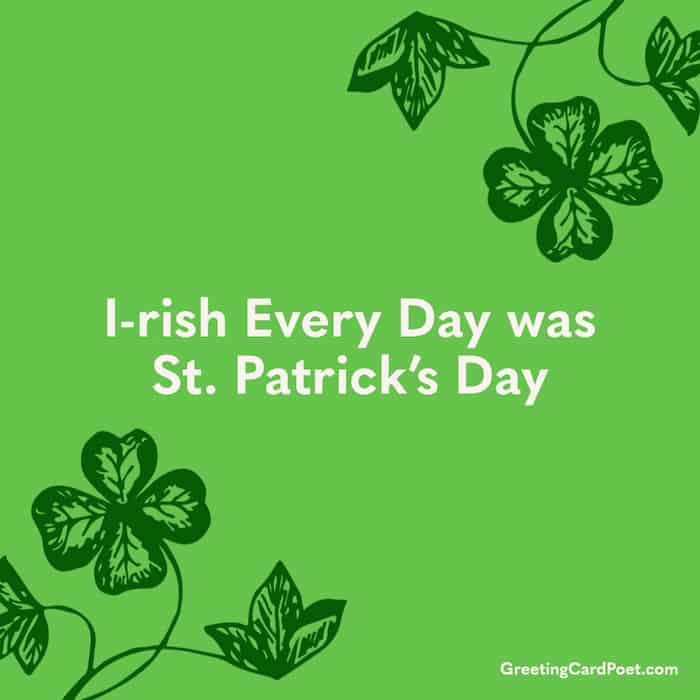 St. Patrick's Day Instagram Ideas