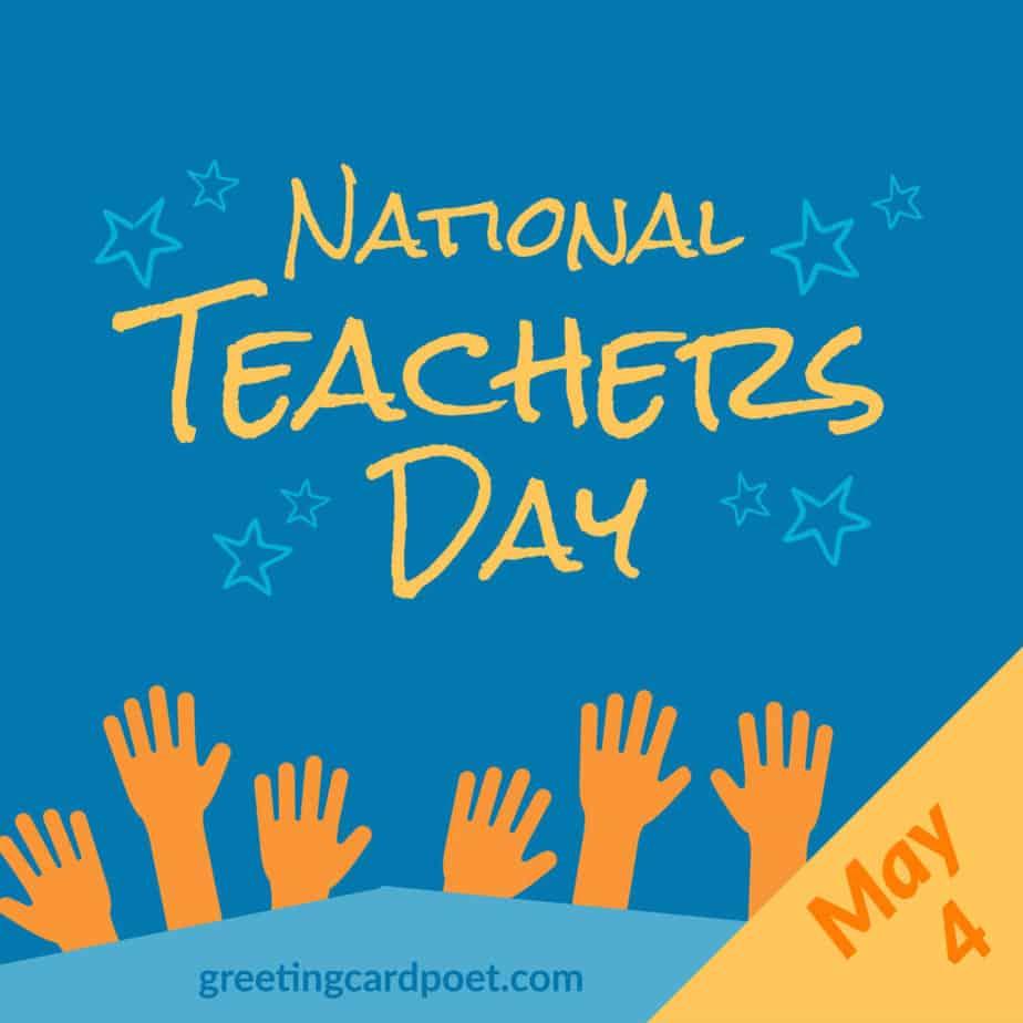 National Teachers Day