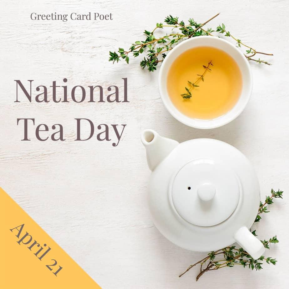National Tea Day