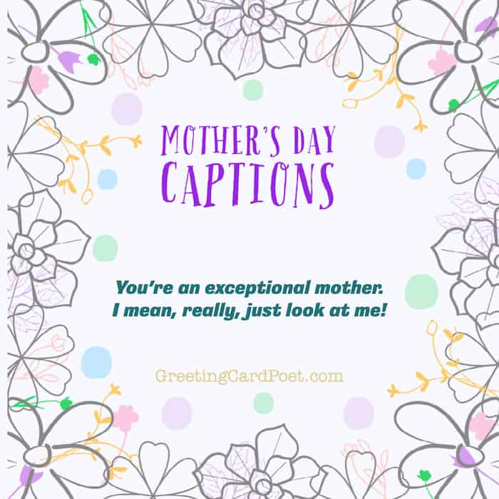 Good Mother's Day Captions for Instagram