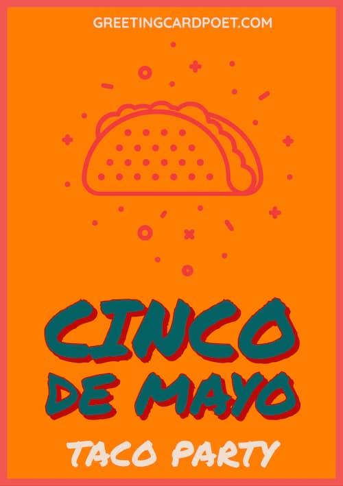 Taco Party Cinco De mayo