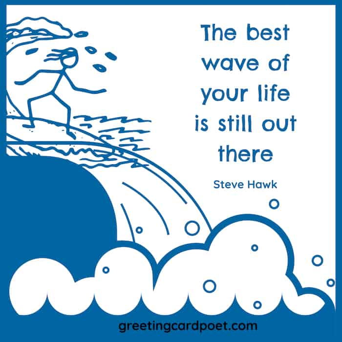 The best wave of your life meme