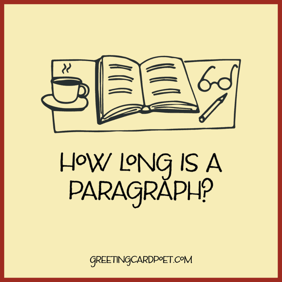 How long is a paragraph?
