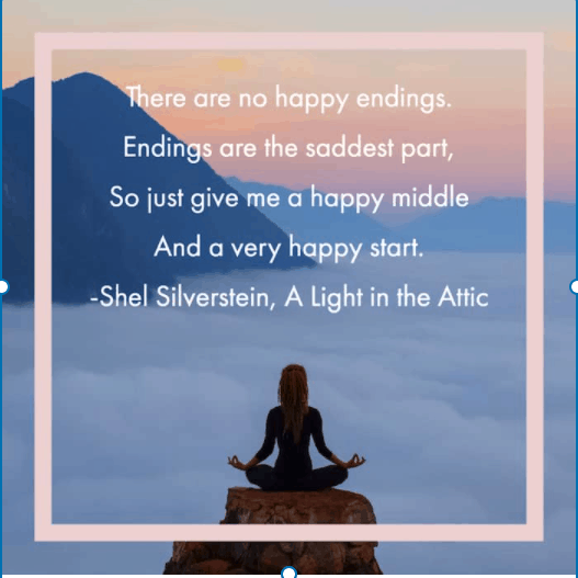 No happy endings quotes