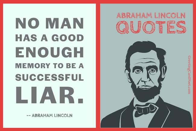 Good Abraham Lincoln quotes